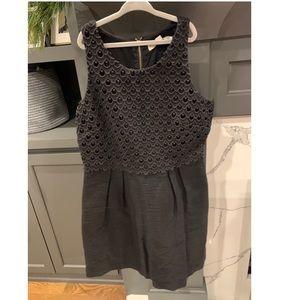 Black Loft dress, size 2P